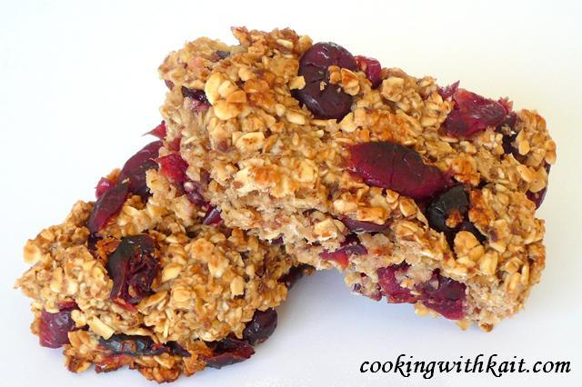 Cranberry Oat Bars | Cooking With Kait