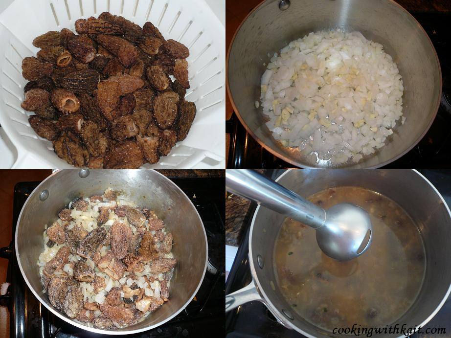 How to cook morrell mushrooms